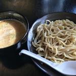 華みち - ~麺セット~ Dつけめん+ミニ焼肉丼 1,080円。