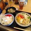 弁慶 - 料理写真:ランチはメインのとんかつ選んでその他は食べ放題 (ご飯、カレー、味噌汁、サラダ、デザート、ドリンク)