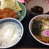 横浜亭 - 料理写真:Aランチ ロースかつセット