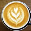 オニバスコーヒー - ドリンク写真:ラテ