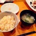 和食じょうず たかの家 - 2016/02/27(土)。季節の土鍋、たけのこご飯。
