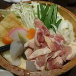 大江戸八百八町 花の舞 - 鶏ちゃんこ:972円