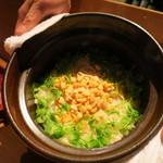 和しょく えびはら - 小柱の土鍋炊込みご飯