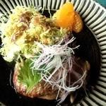 カフェレストラン 瀬里家 - ハンバーグ(和風ソース)