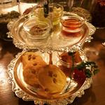 マザー アース カフェ - 米粉のパンケーキ