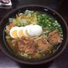正八郎うどん - 料理写真:煮鶏玉子うどん 480円