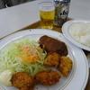 レストラン ふる里 - 料理写真:ランチ(850円)と缶ビール(400円)