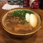 沖縄そば食堂 海辺のそば屋 - ソーキすば