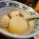 小樽 ニュー三幸 - でーこん、鶏だんご