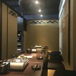 立川飲屋商店 - 15名の宴☆セッティング。