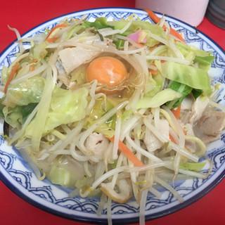 香蘭 - 料理写真:玉子入り長崎ちゃんぽん 800