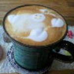 7325コーヒー - カフェラテ