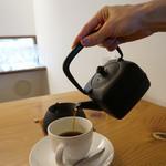 ガーデン・カフェ - 鉄瓶コーヒー