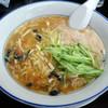 餃子工房 你好 - 料理写真:「酸辣湯麺+炒飯(日替り定食)」880円の酸辣湯麺