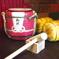 【歓送迎会】5名さま以上のご予約で、樽酒ミニ鏡開きプレゼント