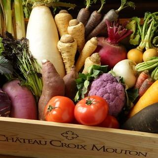 契約農家もぎたて野菜、女性に嬉しいメニューがいっぱい♪