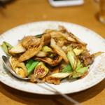 蔡菜食堂 - 豚肉の炒め物