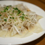 蔡菜食堂 - 茹でワンタン