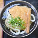 こがね製麺所 - 料理写真:かけそのまま+お揚げ