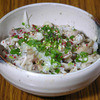 とんちゃん - 料理写真:鶏皮ポン酢