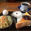 シュガータイム - 料理写真:ブレンドコーヒー400円と小倉トーストセット