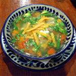 サルシータ - チキンとライムのスープ ユカタン風