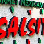 サルシータ - このロゴが目印です。