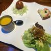屯 かおす - 料理写真:前菜4種