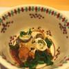 町家懐石 六花 - 料理写真:能登牡蠣の金沢春菊の酢の物