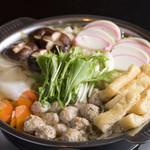 ちゃんこ増位山 - 料理写真:鶏つくね醤油ちゃんこ
