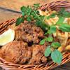 グッドモーニングカフェ - 料理写真:バターミルクフライドチキンとトリュフ風味のフライドポテト