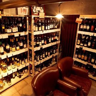 お好きなワインをお選びいただけます