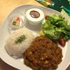 グッドニュースカフェ - 料理写真:トマトと豆のキーマカレー 650円