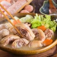 滋賀県産 『近江鶏』の博多風 水炊き鍋