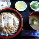 そば処更科 - カツ丼