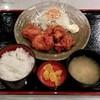 ごはん酒場 山の猿 - 料理写真:から揚げ定食(500円+税)