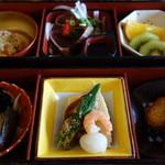 仙巌園 松風軒 - 六種の箱膳