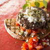 ザ・ブラッスリー - 料理写真:スティックアッシェ(牛肉100%パテ)のオリエンタルオープンサンドイッチ