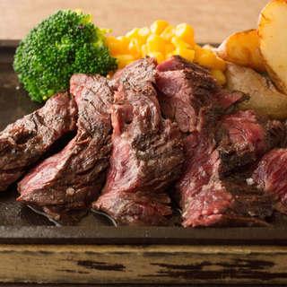 ステーキハウスの進化版!肉とワインが一押し!!