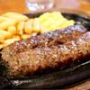 ブロンコビリー - 料理写真:炭焼がんこハンバーグ