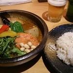48163994 - 2016.01 samuraiまつり(チキン、ラムハンバーグ、豚角煮)