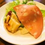 大衆イタリア食堂 アレグロ - ナポリピッツァランチ(前菜)