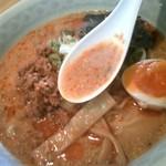 ちゅうか慈元 酒家 - ちゅうか慈元 淡々麺 スープ