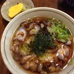 磯料理ヨット - ナマコ茶漬け…シアワセの一品です。