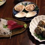 磯料理ヨット - ハマグリがデカイ!プリップリで旨味溢れます