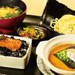 元祖博多めんたい重 - 飯麺吸セット