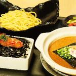 元祖博多めんたい重 - 飯麺セット