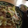 キッチンハウスはせがわ - 料理写真:Aランチ「野菜炒め定食」(580円)を頂きました。