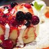 ピアーズカフェ - 料理写真:スフレパンケーキ ベリー&ベリー