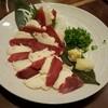 沖縄和顔 - 料理写真:馬刺 二点盛り(赤身とたてがみ)